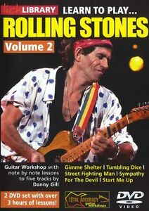 LICK-LIBRARY-Learn-to-Play-THE-ROLLING-STONES-ROCK-LESSON-TUTOR-GUITAR-DVD-Vol-2