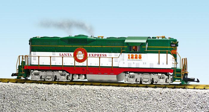 vendita outlet online USA i treni 22134 G Scale GP7-9 GP7-9 GP7-9 Diesel Christmas Locomotive  negozi al dettaglio