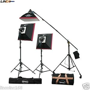 Image is loading Britek-Halogen-Light-Kit-Softbox-Light-Video-Photography-  sc 1 st  eBay & Britek Halogen Light Kit Softbox Light Video Photography Lighting ... azcodes.com