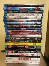 22  used/Like New Blu-ray DVD wholesale Available individually you pick Titles