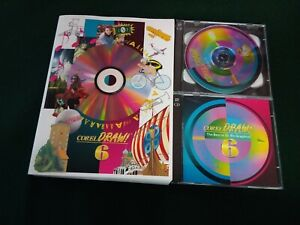 Corel-Draw-6-Vintage-software-1995-CD-2020