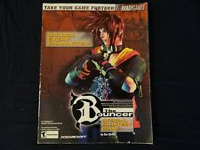 The Bouncer Brady games Official Strategy Guide Playstation 2 PS2 Bradygames