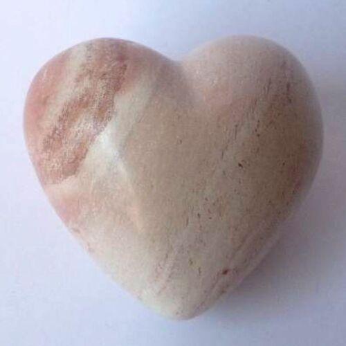 Begleiter  Taschenstein od Handschmeichler Herz aus Speckstein Glücksbringer