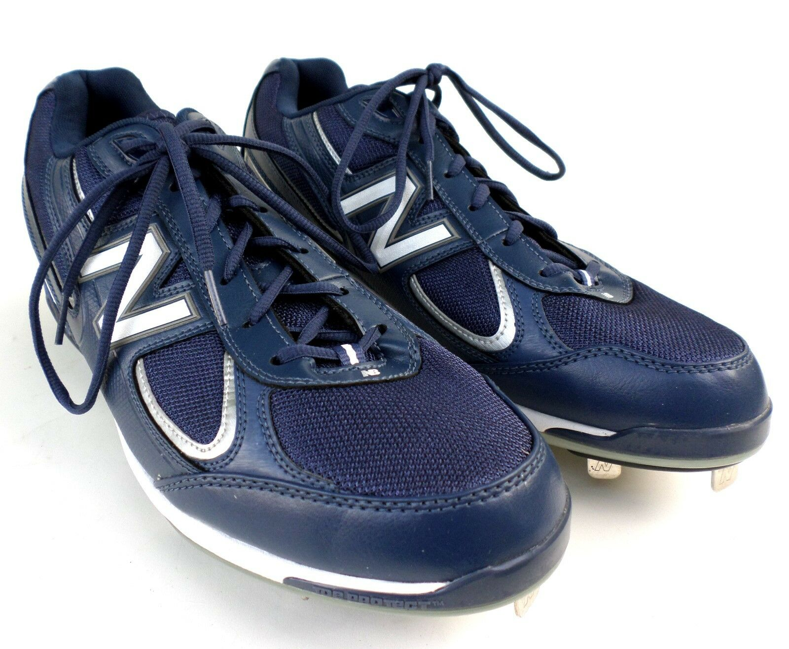 New Balance Mens Baseball Cleats Size 15, 2E Extra Wide Nergy Navy bluee MB1103LB