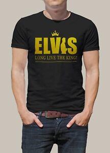 Elvis-Presley-Long-Live-The-King-Men-Printed-T-shirt