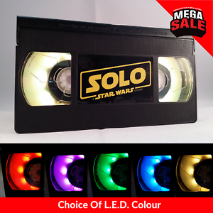 Retro-USB-VHS-Lamp-LED-Xmas-Night-Light-Solo-a-Star-Wars-UK-Gift
