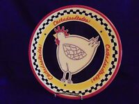 Southern Living At Home Hilarity Hen Plate Chicken Decor Serving Platter