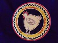 Southern Living At Home Hilarity Hen Plate Chicken Decor Serving Platter