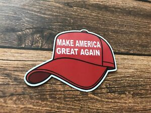f0296342ad0 Make America Great Maga Red Hat Sticker Decal Hard Hat Tool Box ...