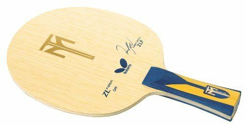 New Butterfly Japan Table Tennis Racket TIMO BOLL ZLF FL 35841 Shake ZL Fiber