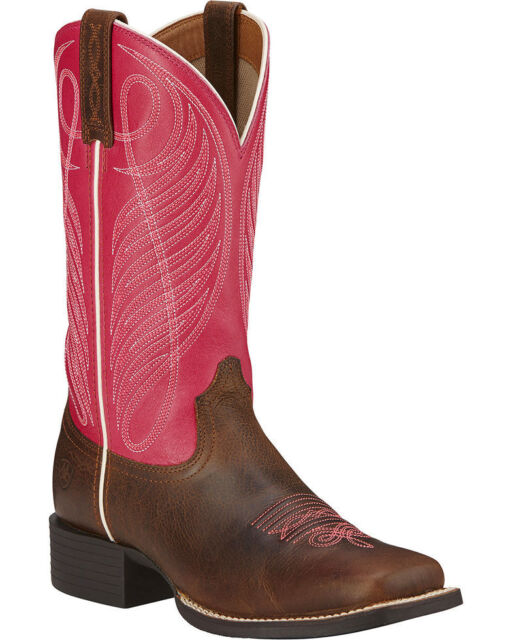 d9d3e74463f New in Box Ariat Womens Round-Up Wide Square Toe 11