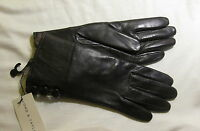 Lord & Taylor Genuine Leather Brown/nat Gloves Size 7