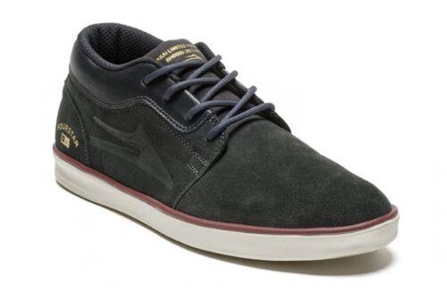Lakai Rick Howard Fourstar Grey Suede Men's skateboard Desert Boot Shoes US8 UK7
