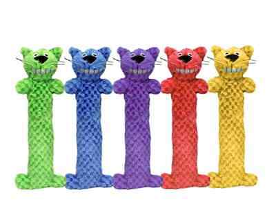 """Multipet Cat toy Loofa 10"""" (Free Shipping in USA)Colors Vary (Sold Individually)"""