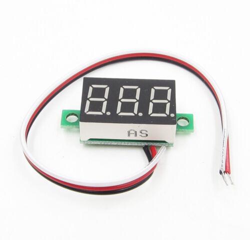 DC 100V 10A Voltmeter Ammeter Blue+Red LED Amp Dual Digital Volt Meter Gauge