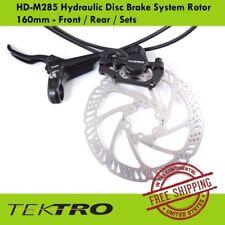 Sets Tektro HD-M285 Hydraulic Disc Brake System 160mm Rotor Front Rear