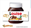 thumbnail 8 - CHRISTMAS Personalised fits Nut Chocolate Spread Jar LABEL Sticker Gift XMAS