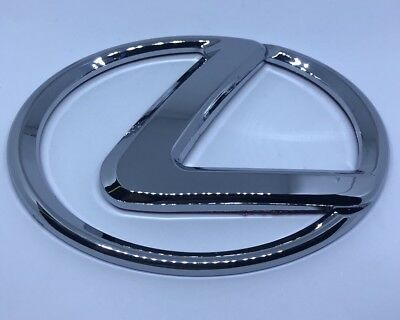 Lexus IS250 IS350 06-13 ISF 06-14 RX350 OEM Rear L Emblem Logo Badge 3M Adhesive