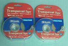 "Glossy Finish Transparent Tape 19MM × 25.4M 3 Rolls 3//4/"" × 1000/"""