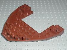 Coque pour bateau LEGO pirates RedBrown Boat Base ref 64645 / Set 6243