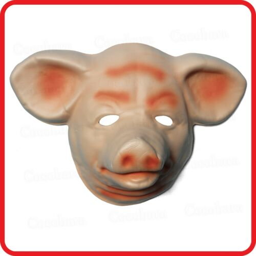 PIG PIGLET MASK-OINK ANIMAL COSTUME-HALLOWEEN-COSPLAY-DRESS UP-PARTY