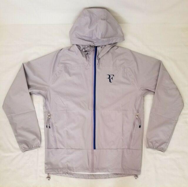 Nike Hypershield Rf Roger Federer Mens Tennis Jacket Size M Ah8385 573 For Sale Online Ebay