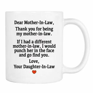 Mother in Law Mug, Mug for Mother in Law, Thank You For Raising The Man Of  My Dreams Mug, Mother of the Groom Mug – Kuppa Store