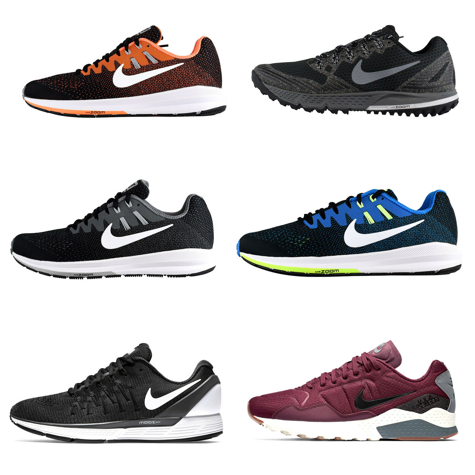 Nike Air Zoom Structure 92 20 Wildhorse 3 Pegasus 92 Structure Odyssey 2 Trainers 48a110