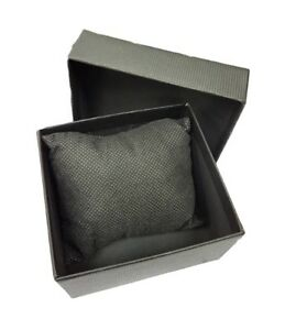 ds Cofanetto Scatola Box Confezione Astuccio Cuscino Orologio Bracciale Nera lac