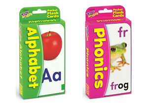 Reading Flash Cards Pack - Alphabet & Phonics - Fun Home Learning - For Ages 3+