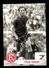 Fred Hesse Autogrammkarte Fortuna Düsseldorf Original Signiert+ A 160409