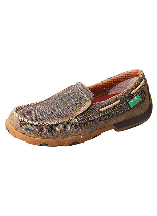 Twisted X Donna's ECO TWX  Dust WDMS009 Slip-On Driving Moccasin WDMS009 Dust 463468