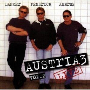 AUSTRIA-3-LIVE-VOL-2-CD-15-TRACKS-DEUTSCHPOP-SCHLAGER-NEU