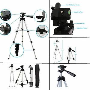 Professional-Tripod-Mount-Stand-for-DSLR-Canon-Nikon-Sony-Camera-Camcorder-New