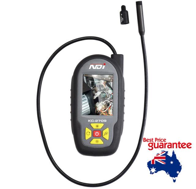 "4 LED Mini Portable Video Inspection Palm Scope Camera Borescope Endoscope 2.7"""