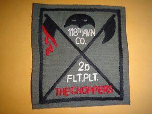 États-unis 118th Aviation Co 2ème Vol Platoon The Choppers Guerre Du Vietnam À Bahcfupz-07225232-352269404