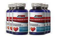 Blood Pressure Support. Dietary Supplement. Cardiovascular Health (6 Bottles)