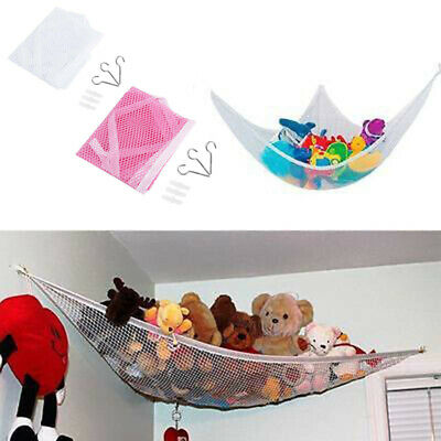 Kinder Spielzeug Hängematte Netz Veranstalter Kuscheltiere Lagerung 2 Farben | eBay