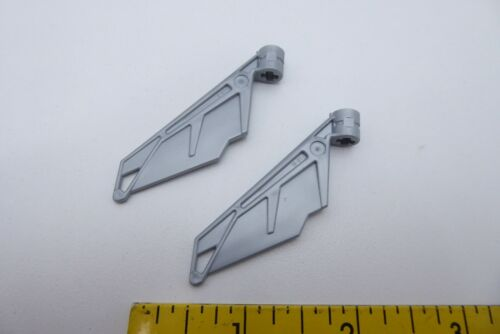 2x Lego 61800 Bionicle Wing Small Choose Color Tail with Axle Hole