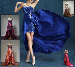 Vestito-Lungo-e-Mini-Cerimonia-Damigella-Bridesmaid-Mini-Maxi-Party-Dress-NCE001