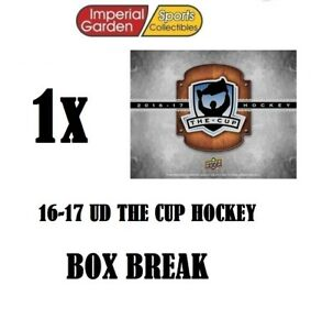 SINGLE-16-17-UD-THE-CUP-HOCKEY-Box-Break-1748-Carolina-Hurricanes