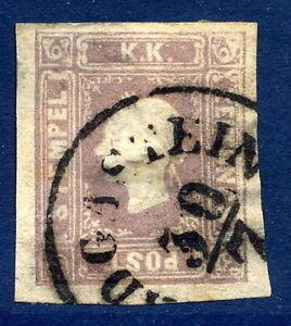AUSTRIA-1859-1-05-Kr-lilac-newspaper-stamp-fine-used