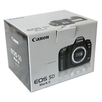Brand New Canon EOS 5D Mark II 21.1 MP Digital SLR Camera (Body Only) -Fedex USA