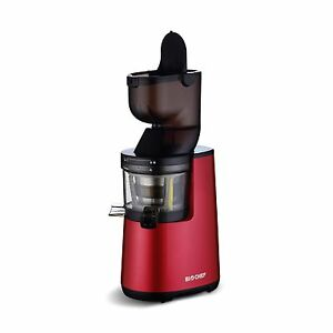 Extracteur-de-Jus-BIOCHEF-Atlas-Whole-Slow-Juicer-Rouge-NEUF
