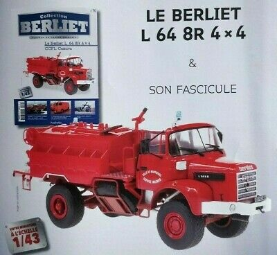 L 64 8//R 4X4 RAID AFRIQUE 1973 au 1//43° COLLECTION BERLIET