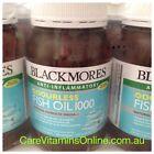 Blackmores Odourless Fish Oil 1000 mg - 400 Capsules for Heart Brain & Joint 1