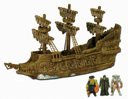 Piratas Del Cocheibe Barco Pirata 3 micro flota volando holandés 3 figuras