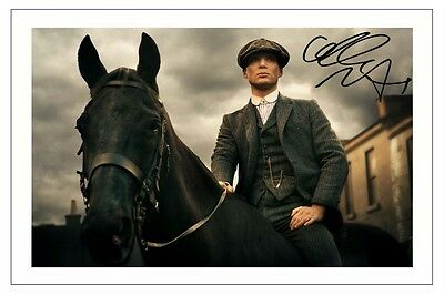 CILLIAN MURPHY PEAKY BLINDERS AUTOGRAPH SIGNED PHOTO PRINT