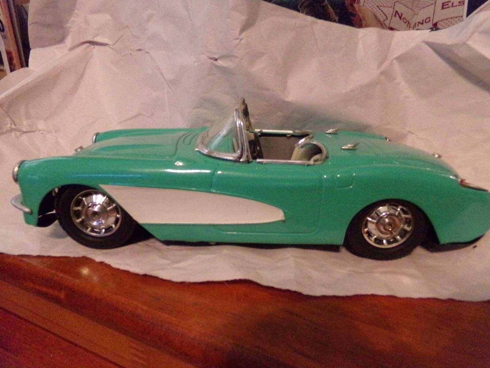 1957 TURQUOISE MODEL METAL CORVETTE CORVETTE CORVETTE bb2a22