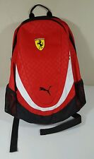 NEW PUMA FERRARI REPLICA BACKPACK RED ROSO CORSA  WITH TAGS